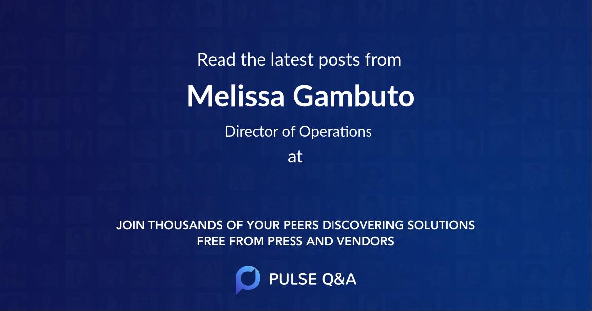 Melissa Gambuto