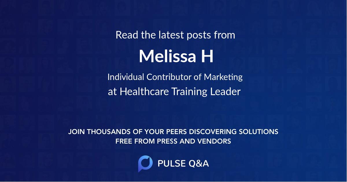 Melissa H