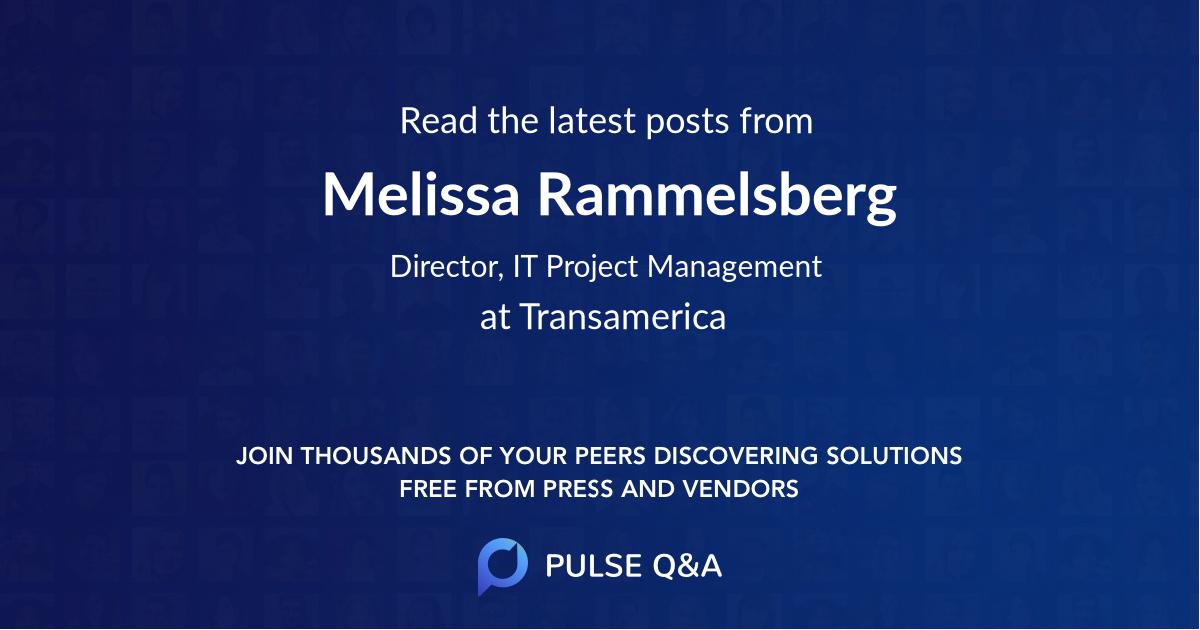 Melissa Rammelsberg