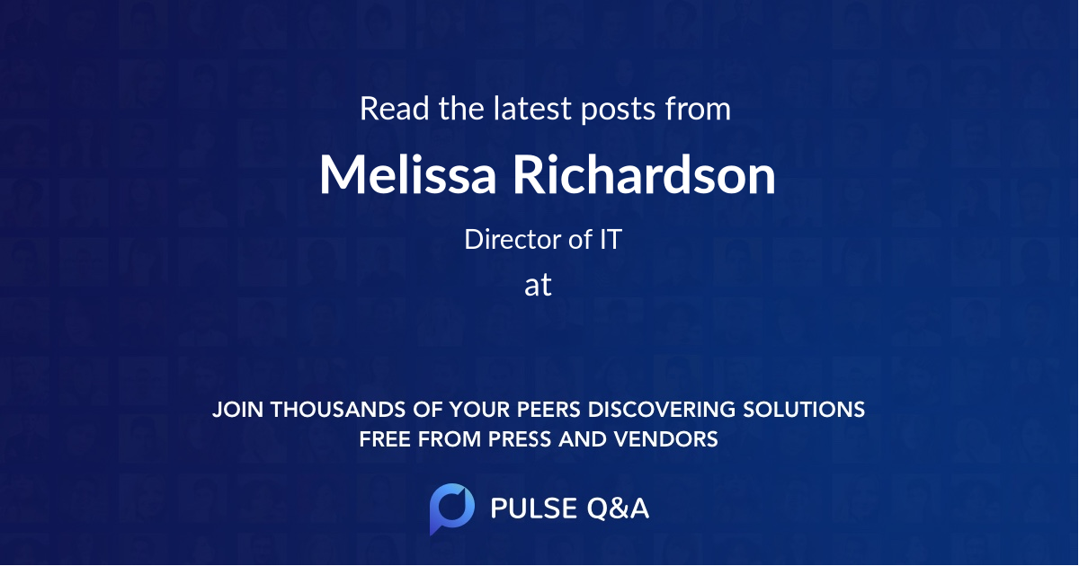 Melissa Richardson
