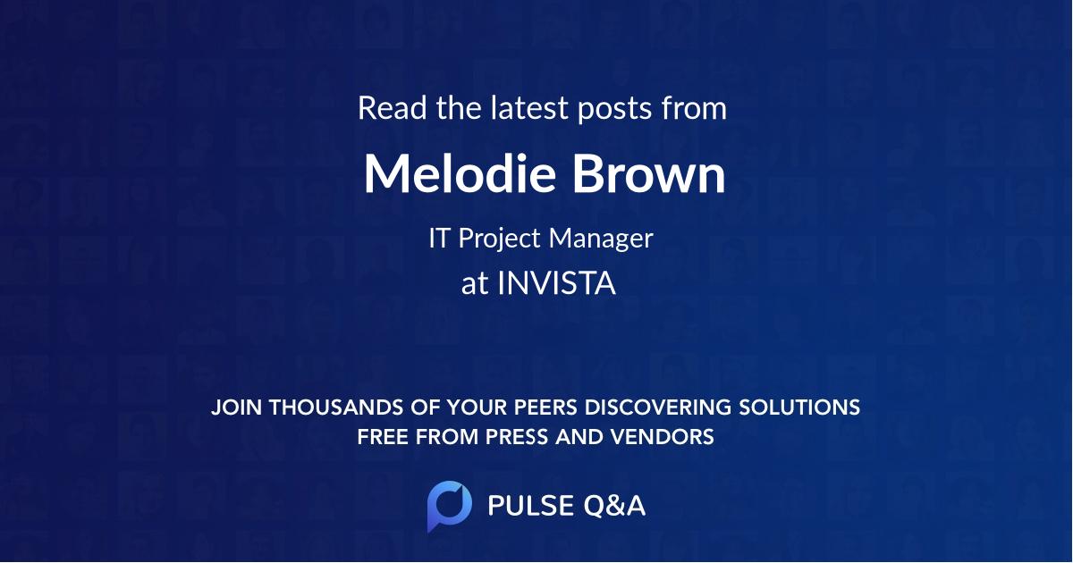 Melodie Brown