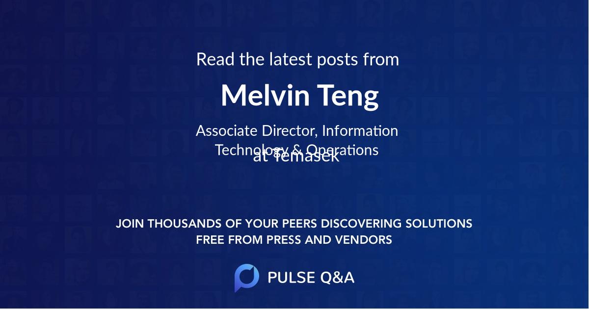 Melvin Teng