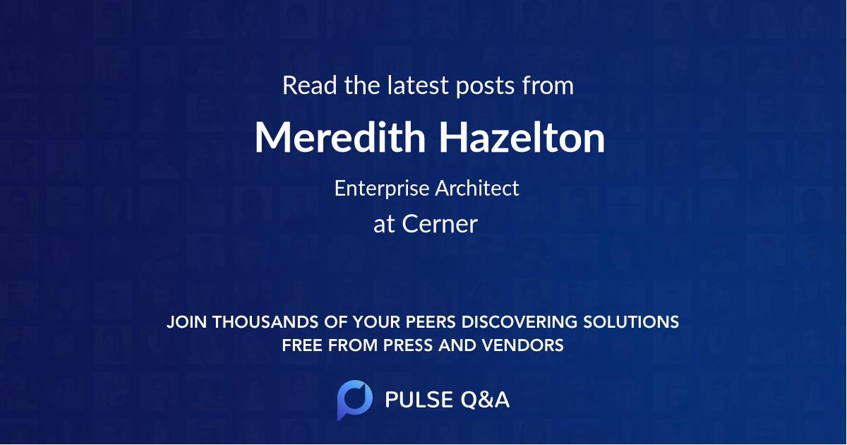 Meredith Hazelton