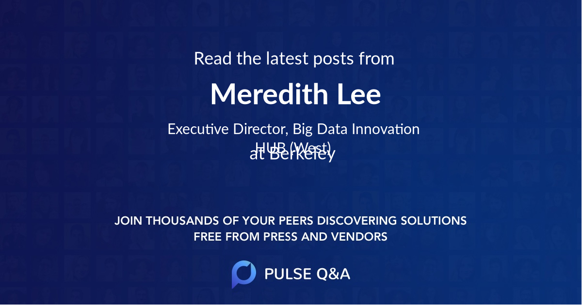 Meredith Lee