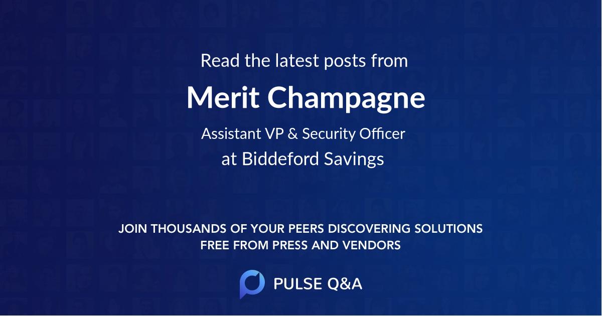 Merit Champagne