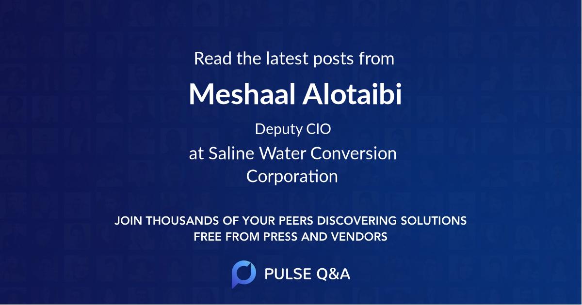 Meshaal Alotaibi