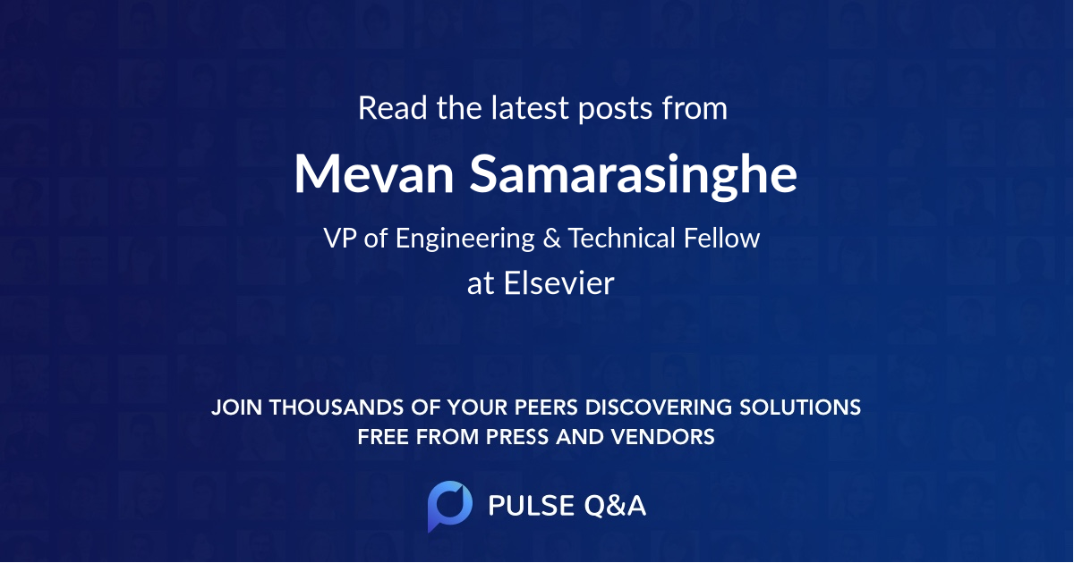 Mevan Samarasinghe