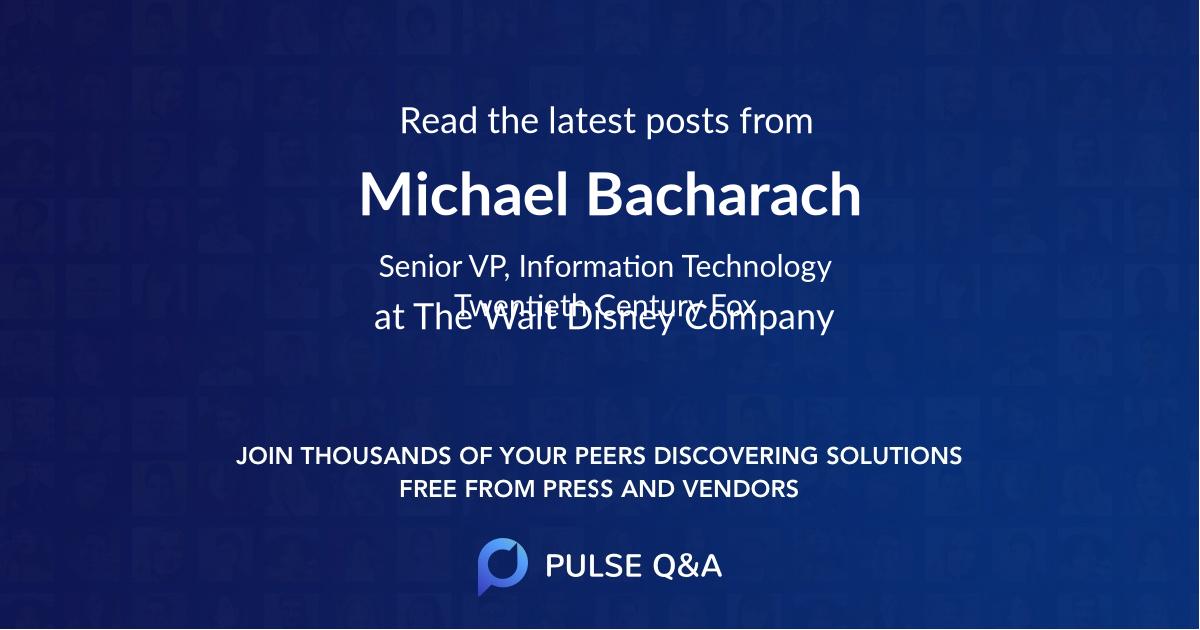 Michael Bacharach