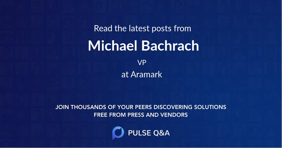 Michael Bachrach