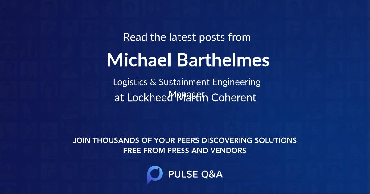 Michael Barthelmes