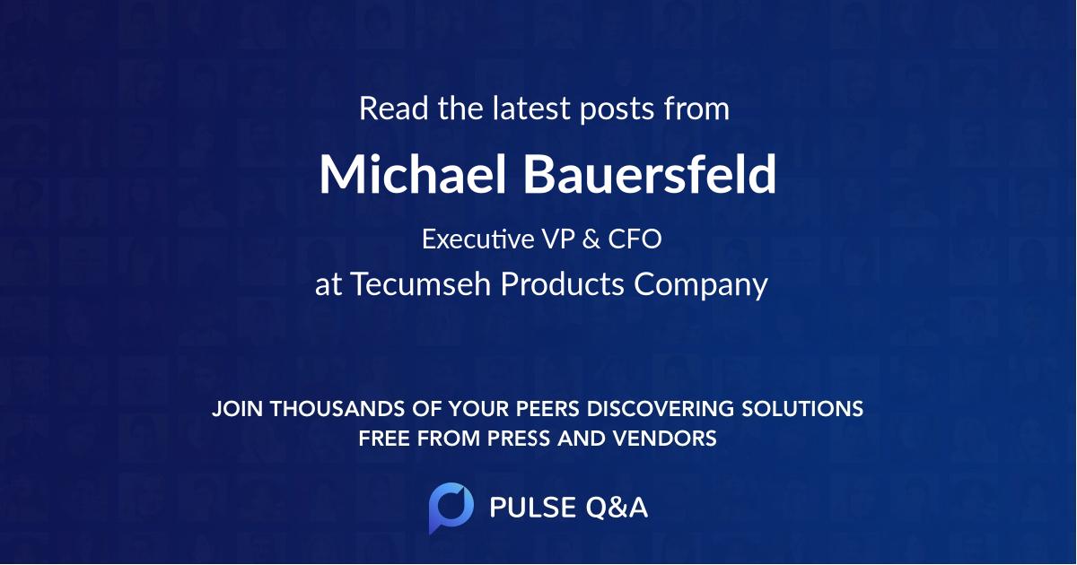 Michael Bauersfeld