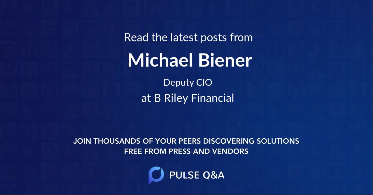 Michael Biener