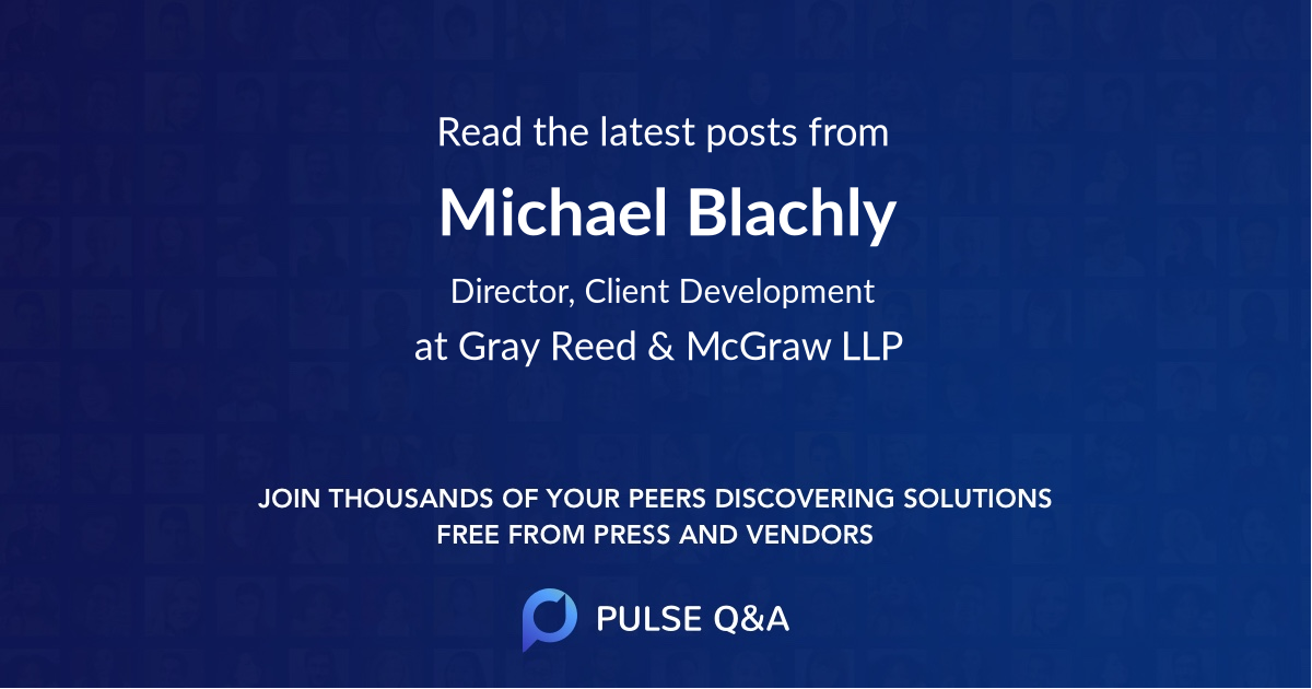 Michael Blachly