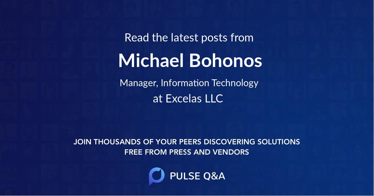 Michael Bohonos