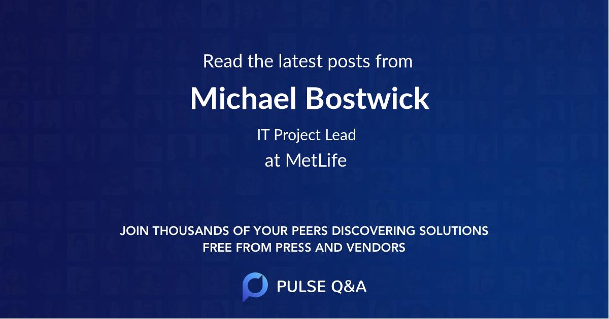 Michael Bostwick