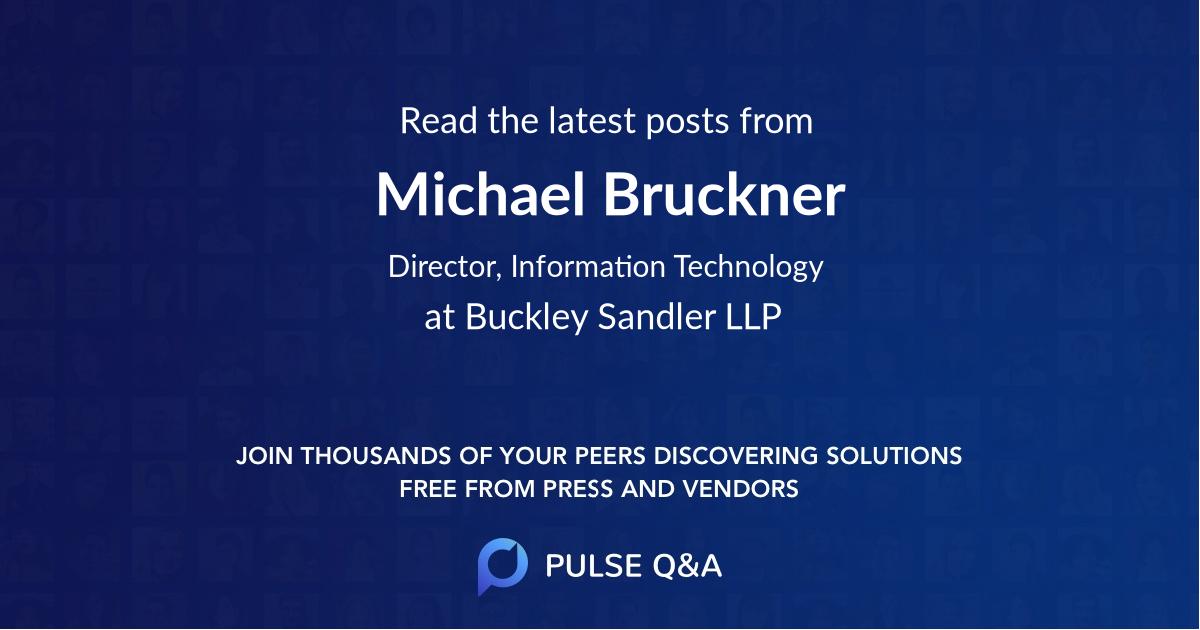 Michael Bruckner