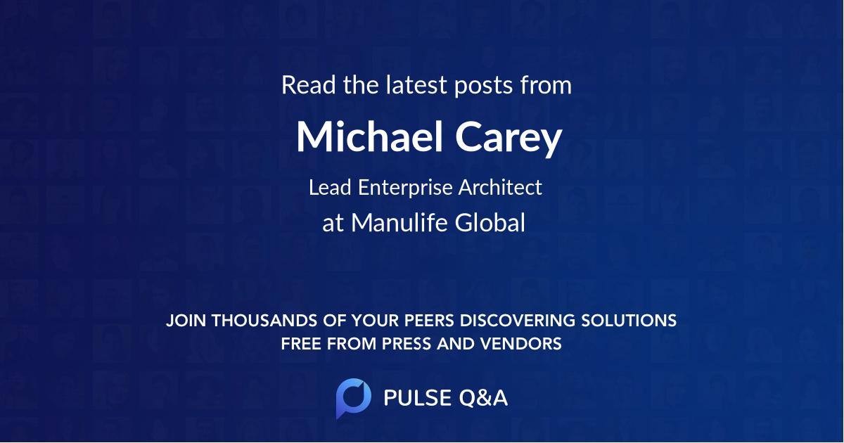 Michael Carey