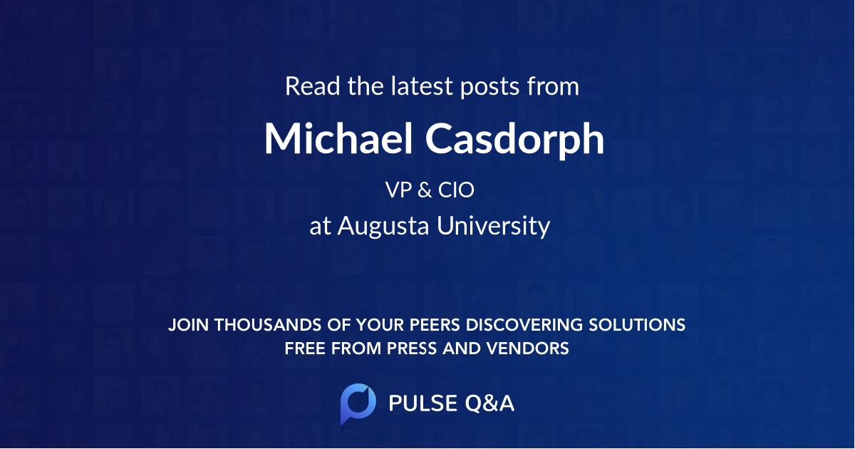 Michael Casdorph