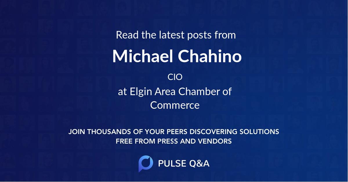 Michael Chahino