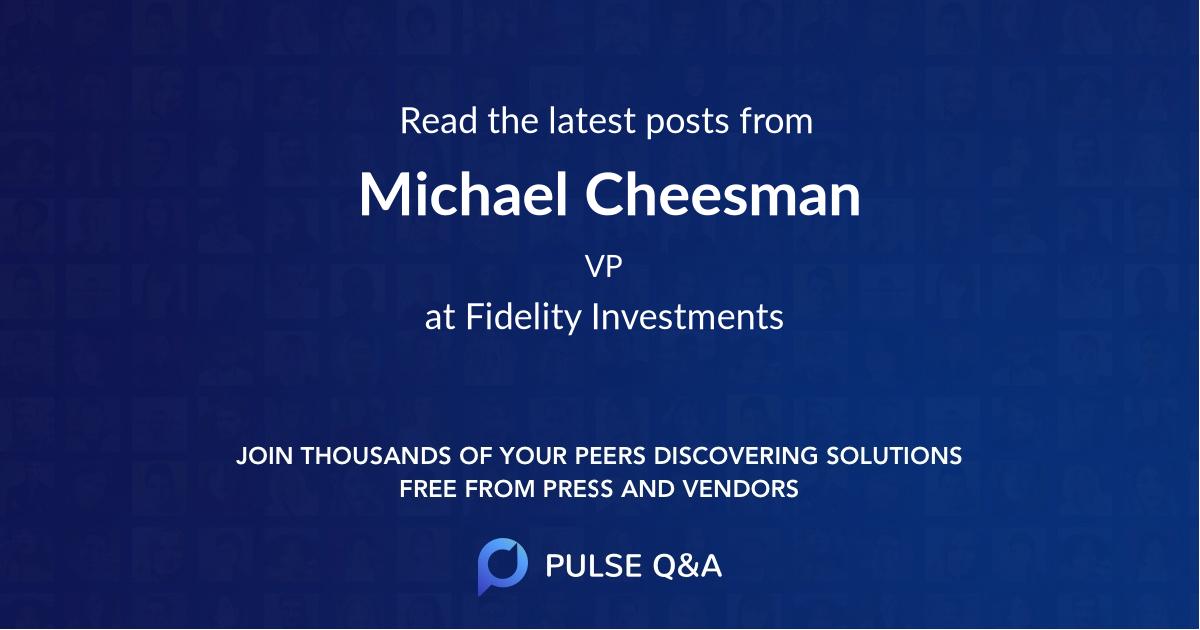 Michael Cheesman