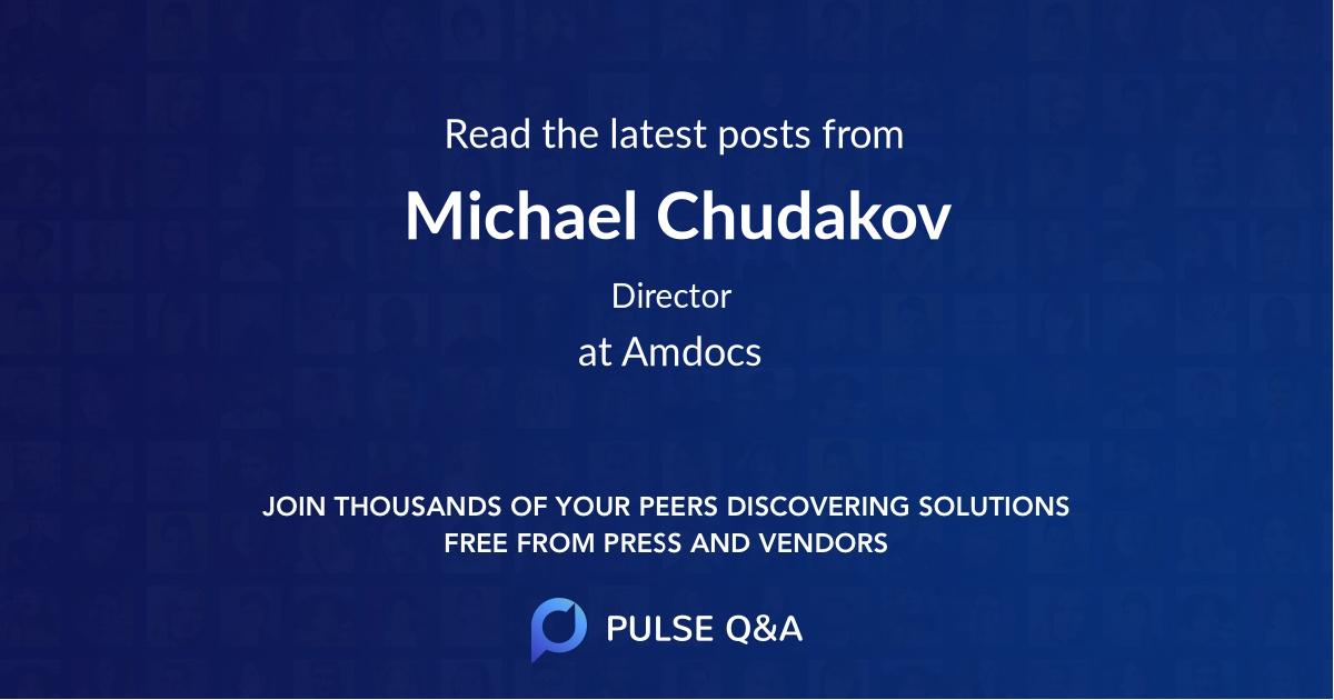 Michael Chudakov