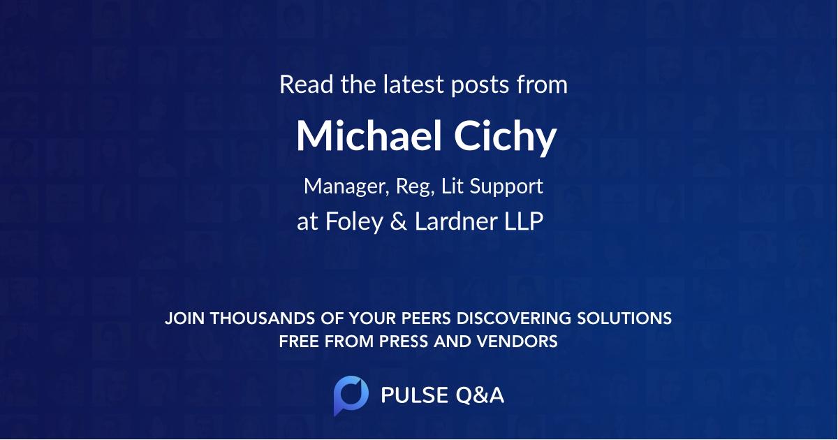 Michael Cichy