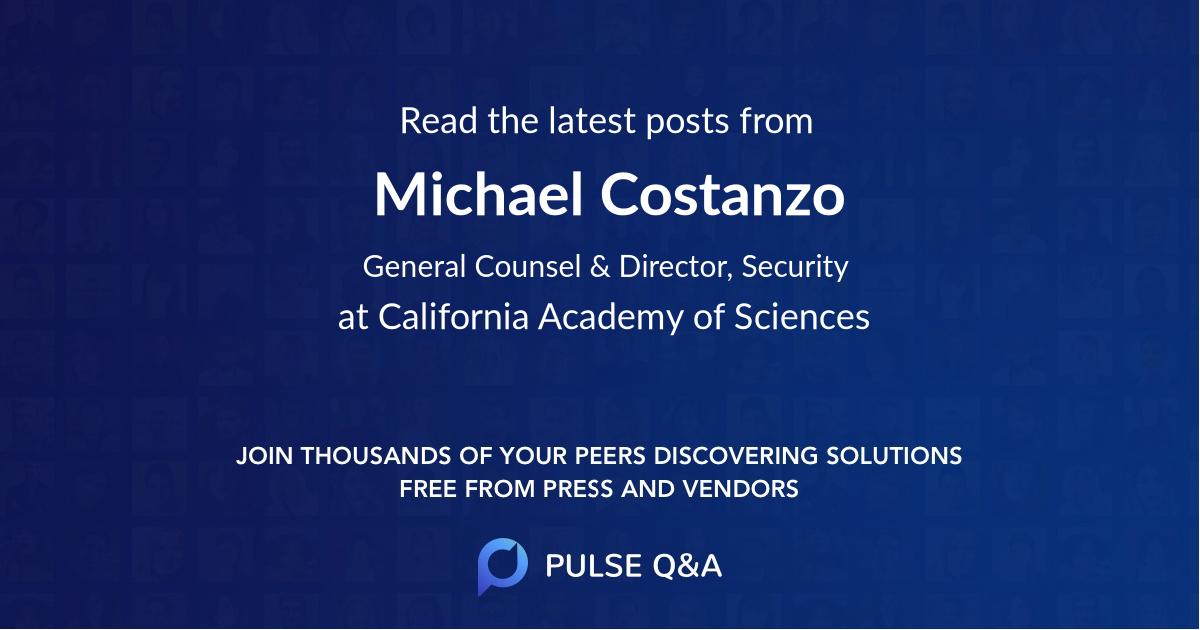Michael Costanzo