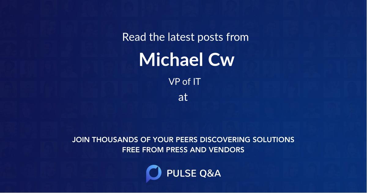 Michael Cw