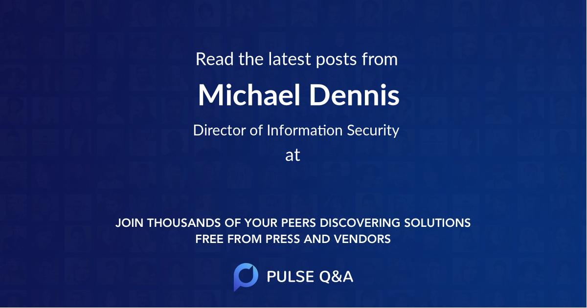 Michael Dennis