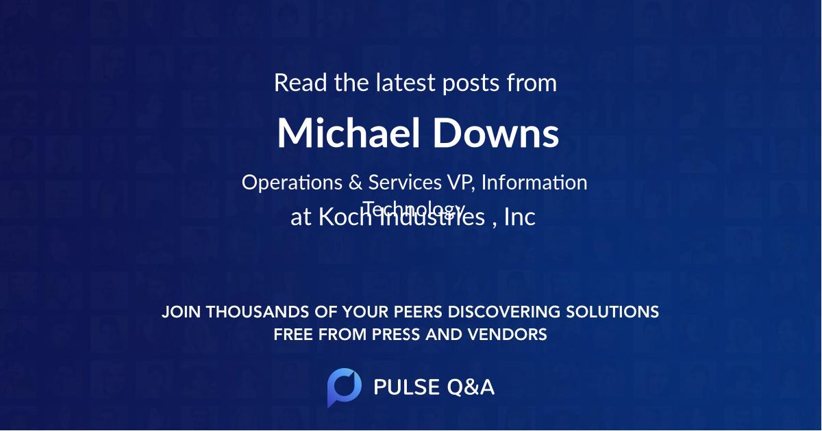 Michael Downs