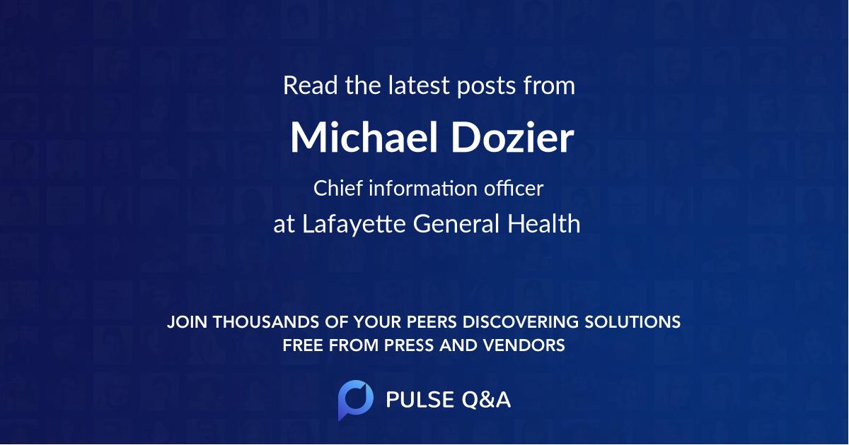 Michael Dozier