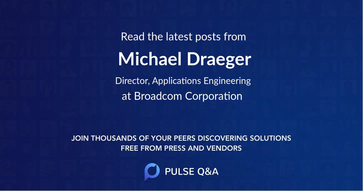Michael Draeger