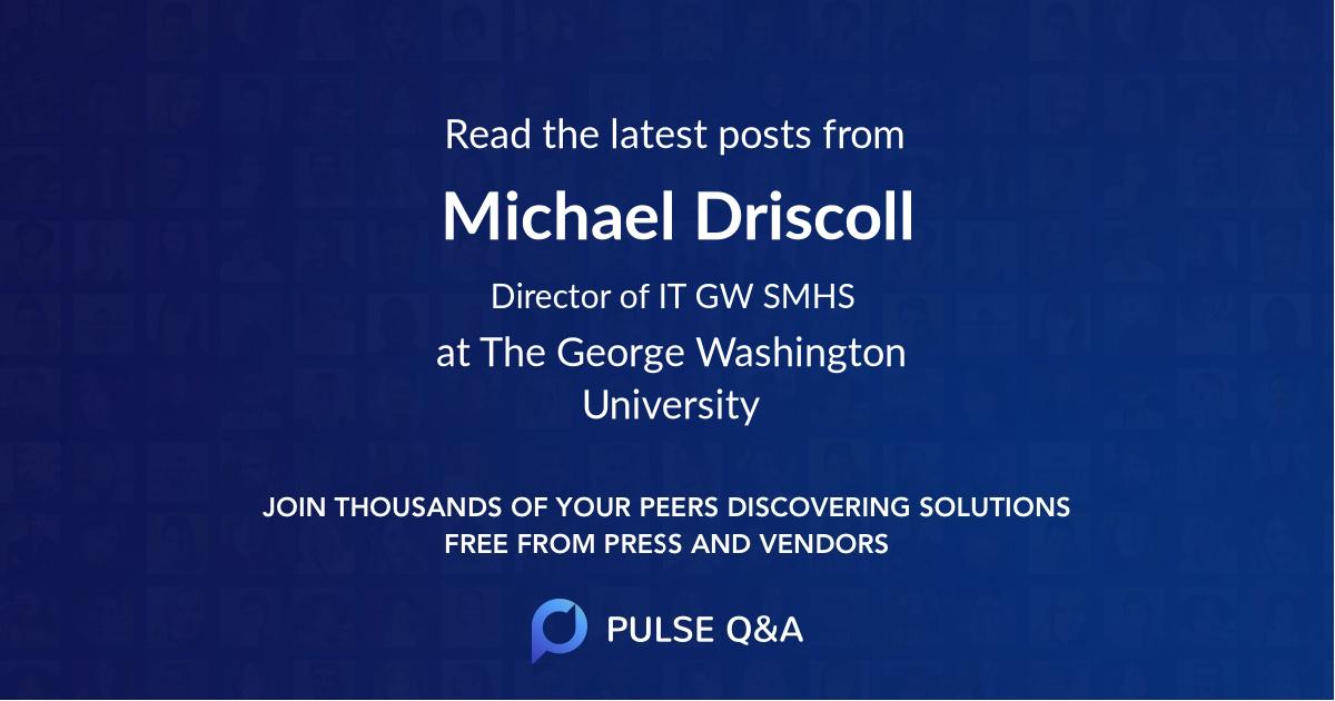 Michael Driscoll