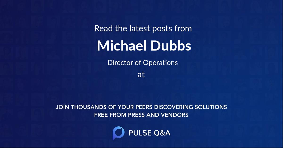 Michael Dubbs