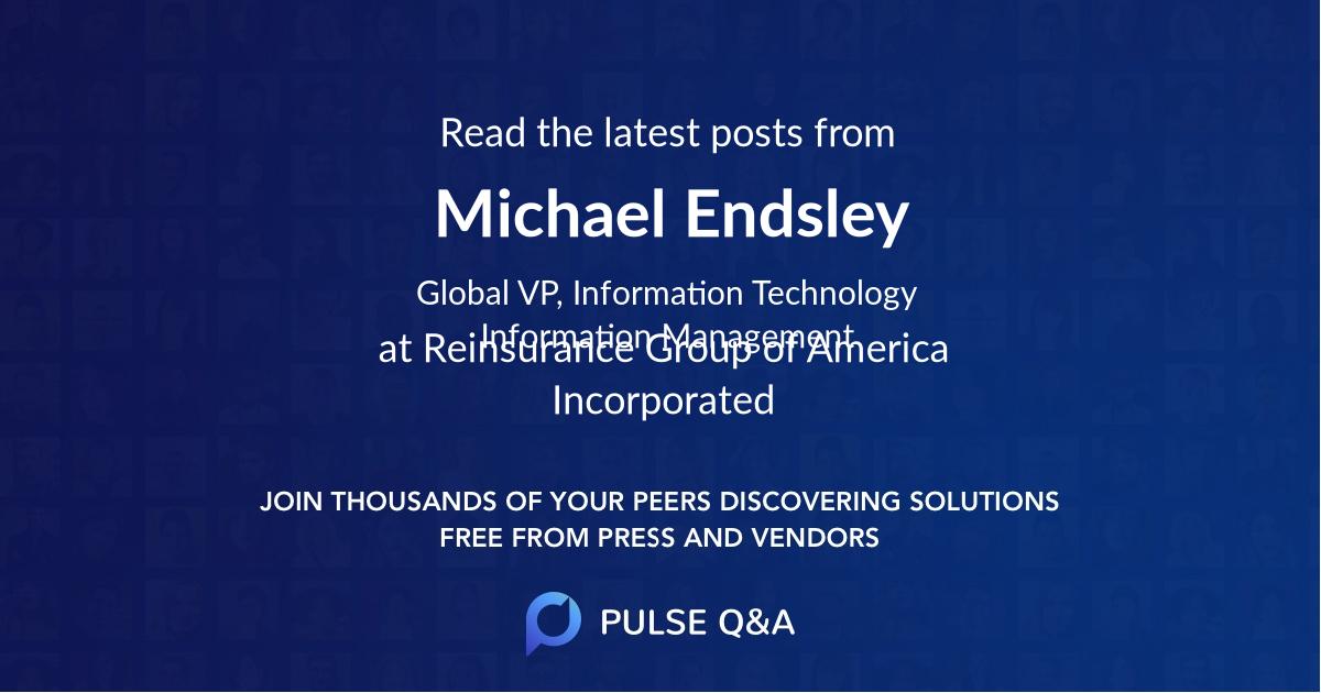 Michael Endsley