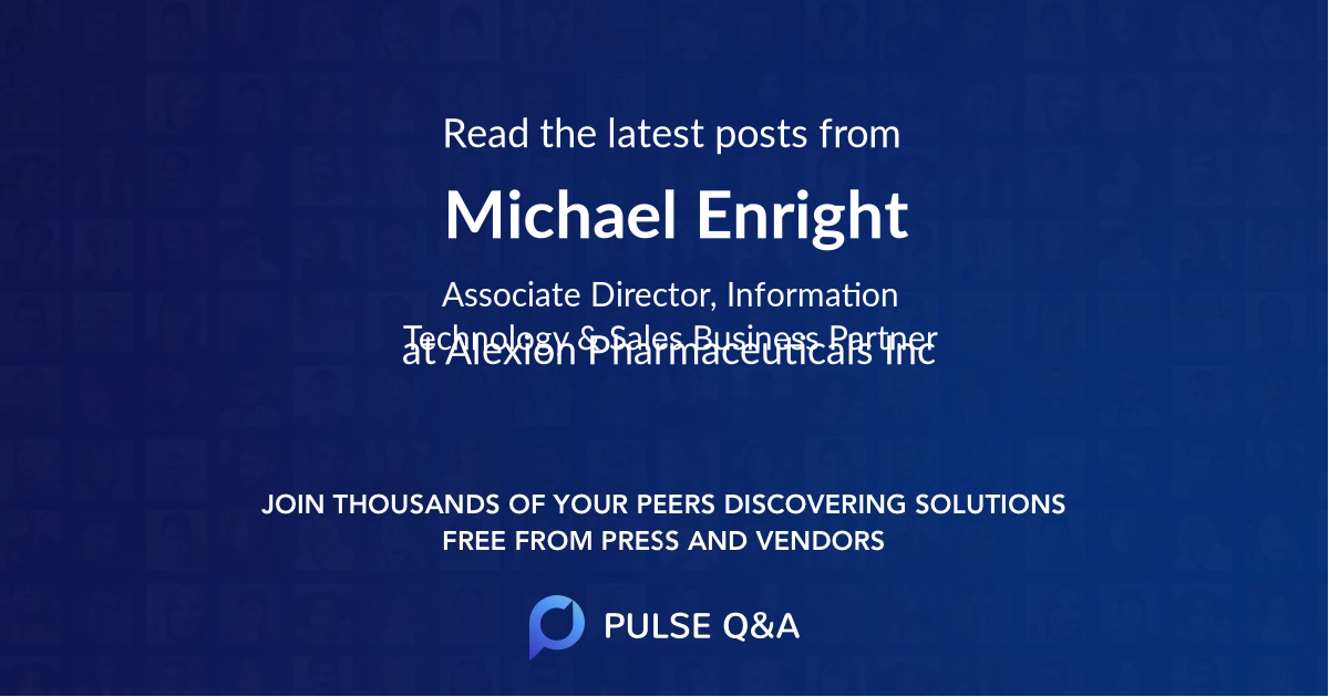 Michael Enright