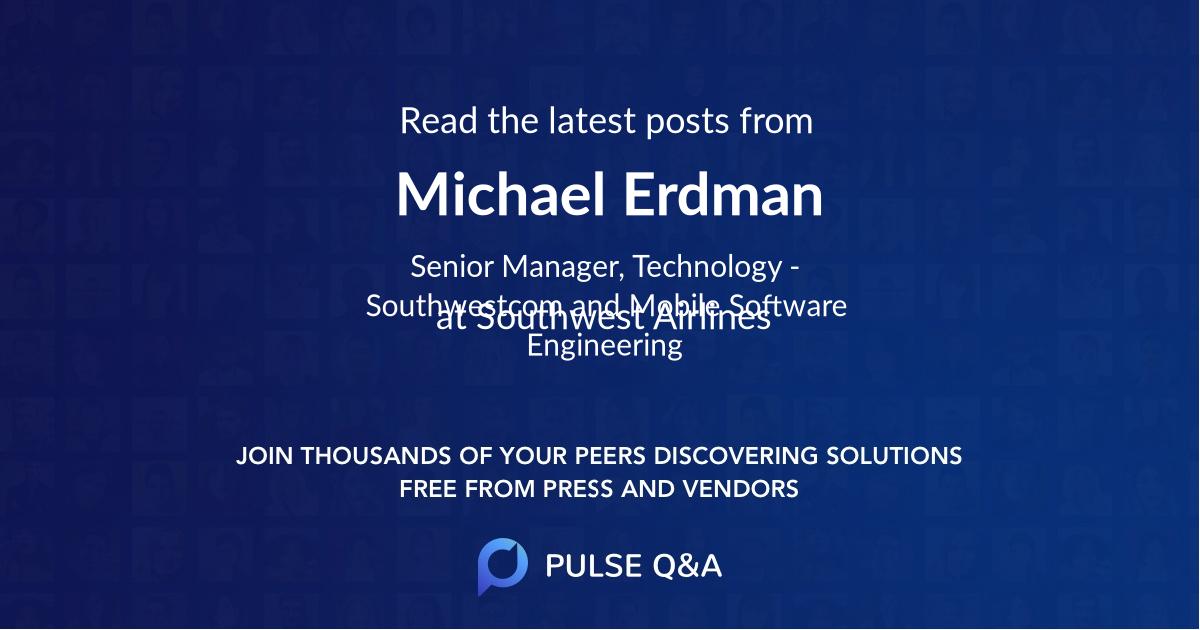 Michael Erdman