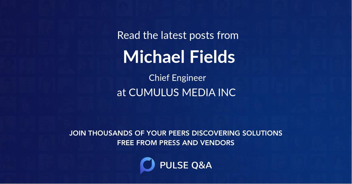 Michael Fields