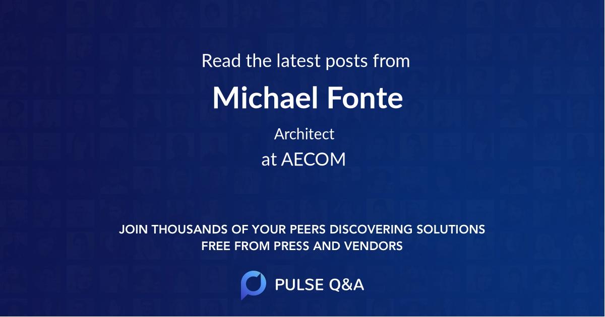 Michael Fonte