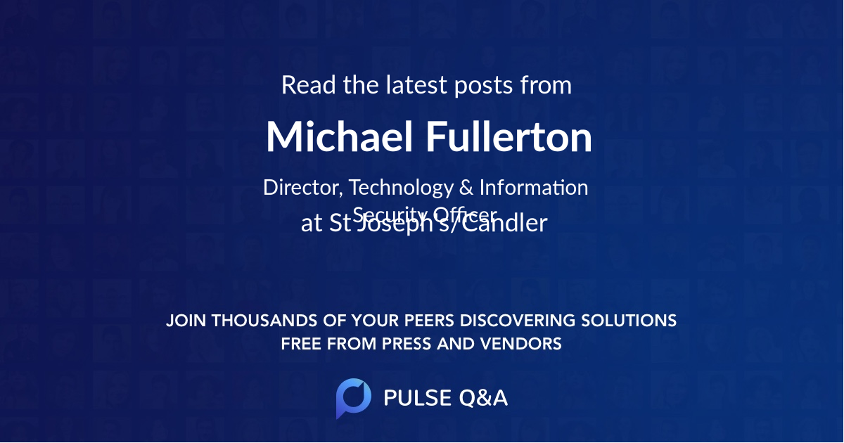 Michael Fullerton