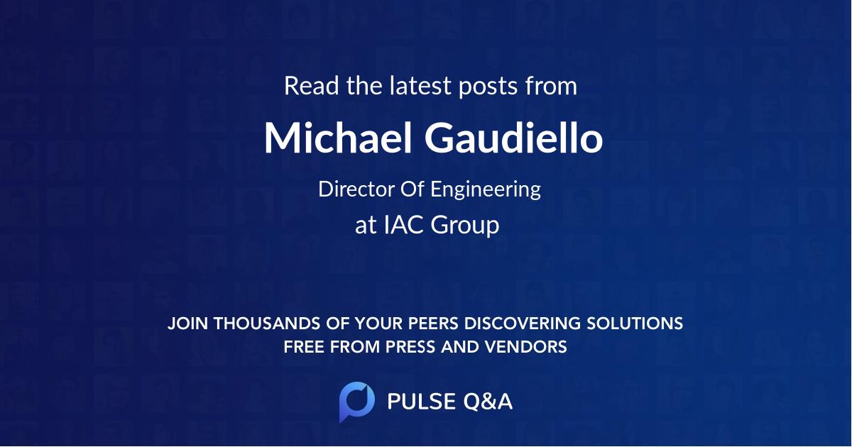 Michael Gaudiello