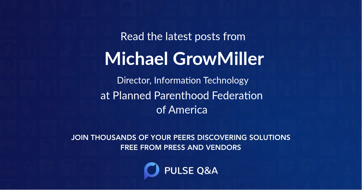 Michael GrowMiller
