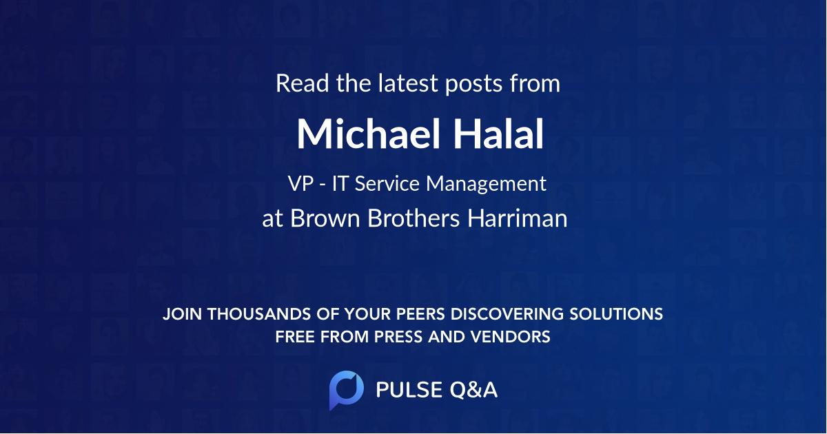 Michael Halal
