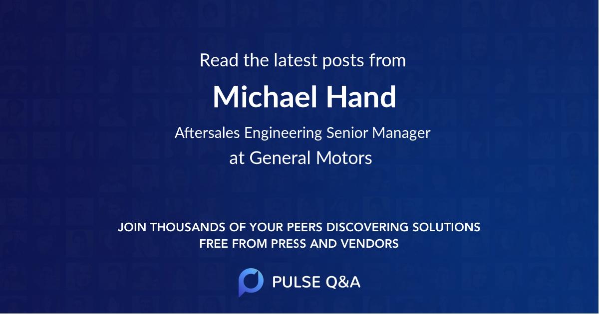 Michael Hand