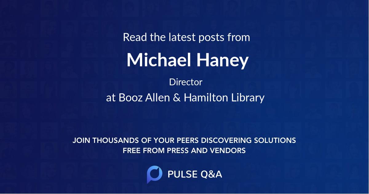 Michael Haney