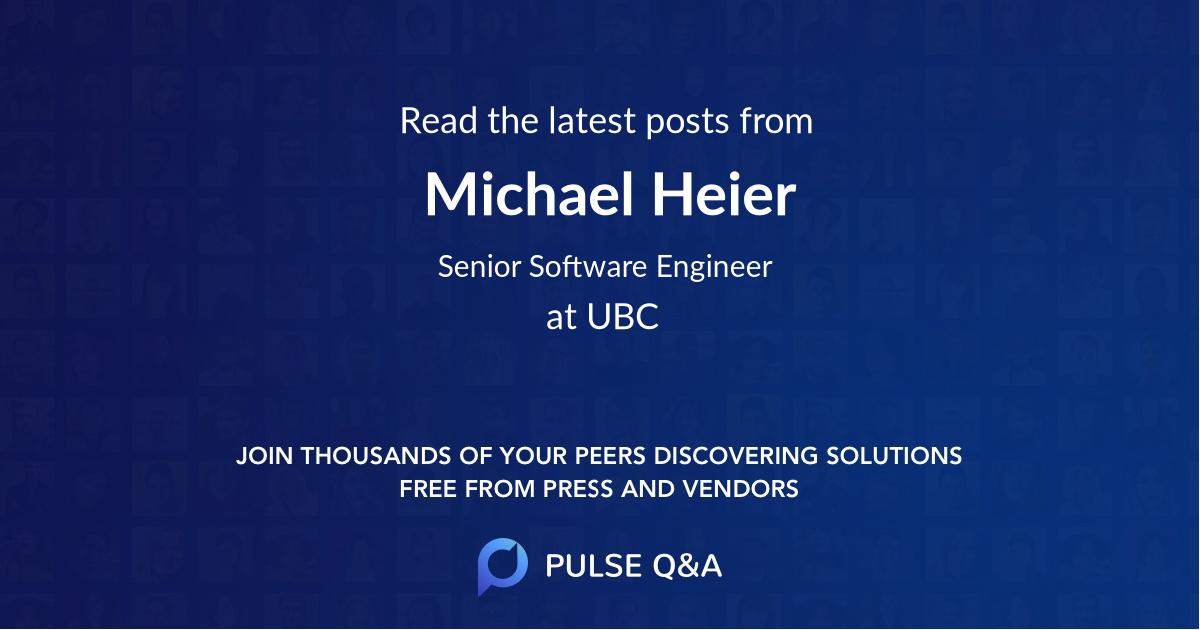 Michael Heier