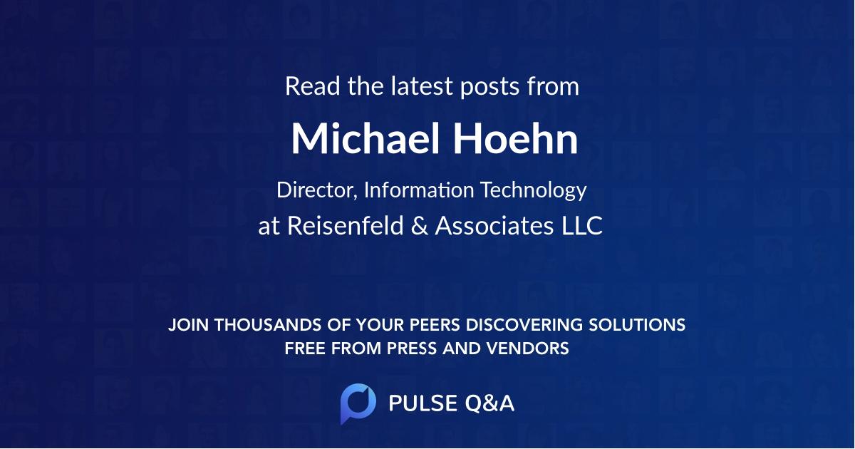 Michael Hoehn