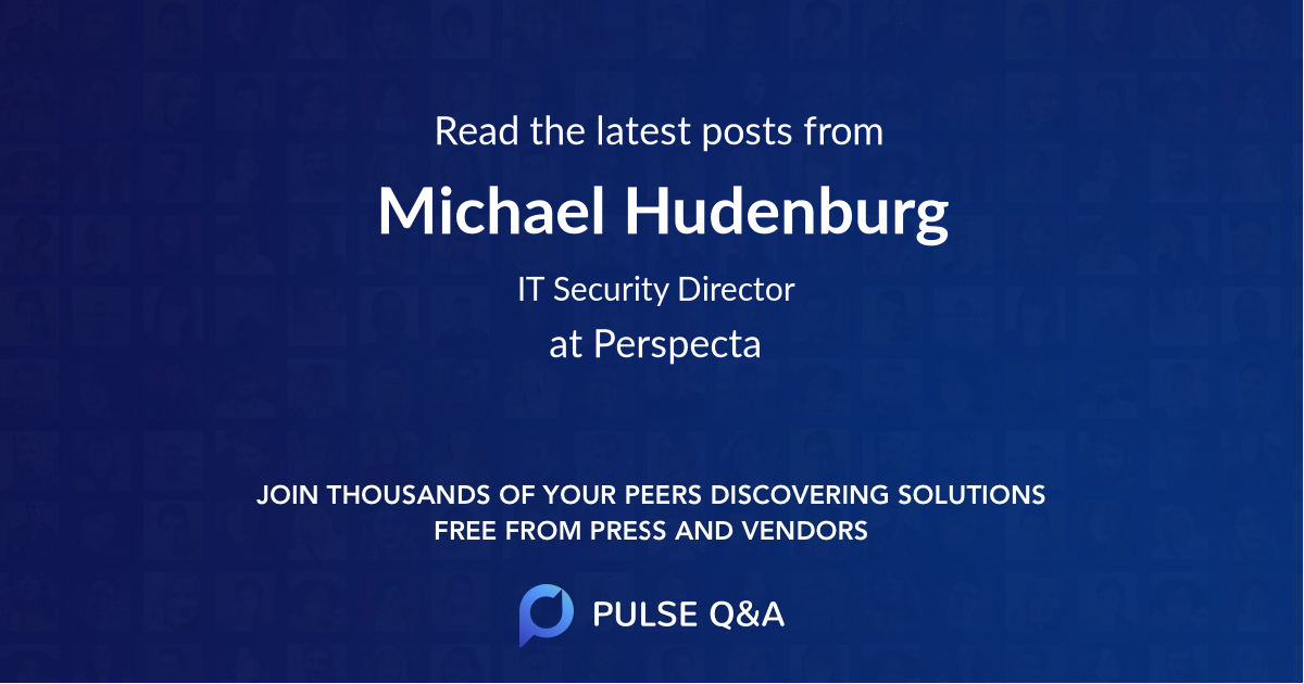 Michael Hudenburg