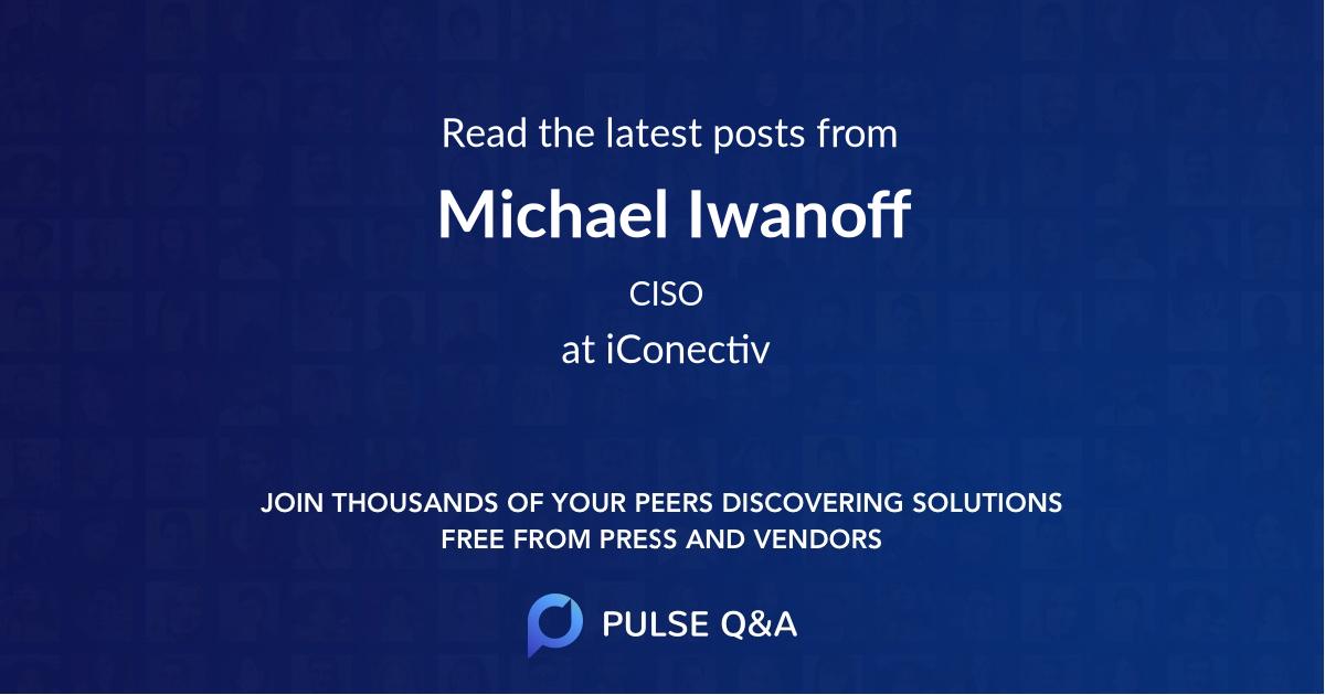 Michael Iwanoff