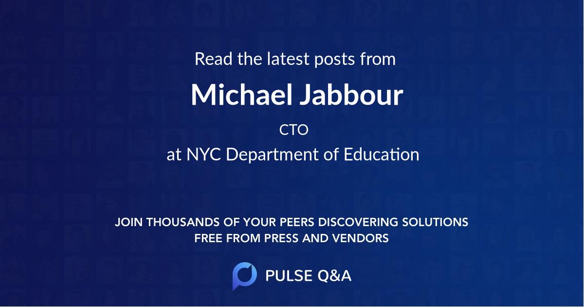 Michael Jabbour